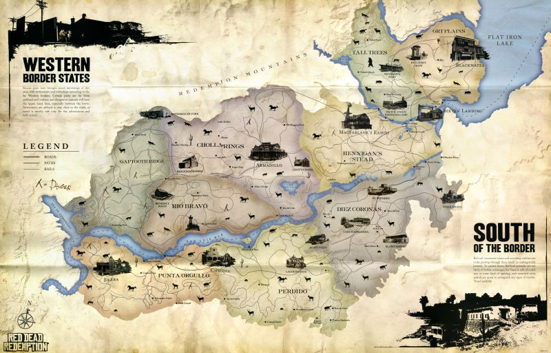 RDR map